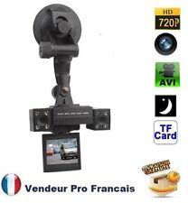 Double camera sport pro embarquee auto boite noire voiture micro vision de nuit