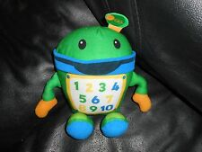 fisher price 2011 mattel green cell phone robot numbers calculator blue orange