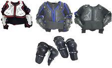 Enfants Veste Motocross Blousons Armure Corps Veste Moto avec Genou Protection