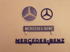 SET  ENSEIGNE  MERCEDES BENZ  GARAGE  STATION  DEPREUX  VROOM  1/43