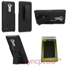 Black PureGear Kickstand & Belt Clip Case for LG G3 - Rugged Holster 60702PG USA
