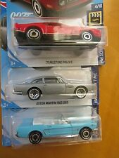 james bond Lot-3, Hot Wheels Screen Time 007 - 'ASTRO MARTIN and mustang more