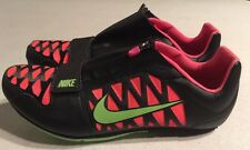 Nike Zoom LJ 4 Long Jump IV Cleats Spikes Black/Hyper Punch 415339-036 US 12.5