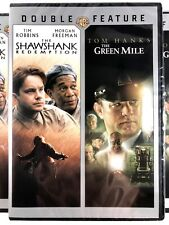 The Shawshank Redemption / The Green Mile [New Dvd] 2 Pack, Eco Amaray Sealed✨