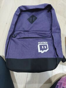 Twitch Partner Backpack - 2018 TwitchCon Exclusive Merch - Rare