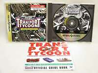 TRANSPORT TYCOON Sega Saturn ss