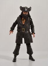 "2011 Blackbeard 4"" Jakks Action Figure Disney Pirates Of The Caribbean"