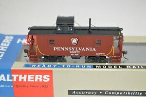 HO scale Walthers Platinum Pennsylvania RR N6B wood caboose car train