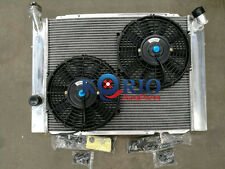 Alloy Radiator&Fan HOLDEN COMMODORE VB VC VH VK 4.2L 5.0L V8 308 253 78-86 MT