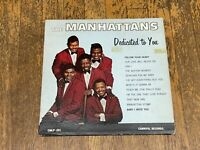 The Manhattans LP - Dedicated To You - Carnival Records CMLP 201