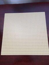Lego genuine 32x32 Baseplate Beige