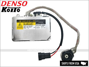 1x New DENSO Koito OEM HID Xenon Ballast for Lexus TOYOTA DDLT002 MADE IN JAPAN