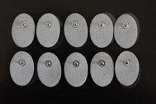 BONUS! Small Oval Electrode Massage Pads(10) for PALM & ECHO Digital Massager
