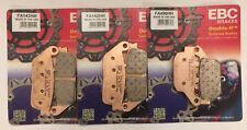 EBC Sintered FRONT & REAR Brake Pads Fits Honda CB650F / CBR650F (2014 to 2020)