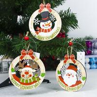 Eg _ Caldo Babbo Natale Pupazzo di Neve Ciondolo Albero Ornamento da Appendere