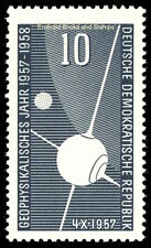 EBS East Germany DDR 1957 International Geophysical Year Michel 603 MNH**