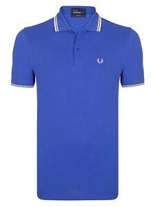 Fred Perry Herren Poloshirt  Neu Kurzarmshirt Business Polohemd  GR: S, M, XL
