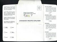 CANADIAN PACIFIC AIRLINES 1967 ANY COMMENTS ON OUR SERVICE? LETTER VANCOUVER