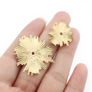 20Pcs Raw Brass Wrinkle Leaf Charms Pendants for Jewelry Necklace Earring Making