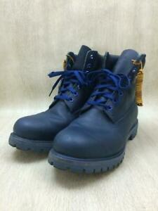 Timberland  Blu Leather Tb0A13Xu blue Boots From Japan 6917