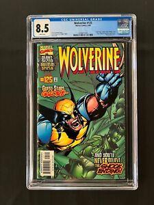 Wolverine #125 CGC 8.5 (1998) - wraparound cover
