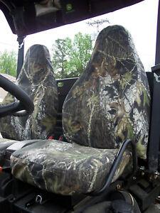 John Deere 625i-825i-855D Gator Sport Seat Covers 2012-17 - Camo-Solid-USA MADE