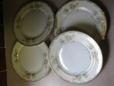 """FOUR  SIDE PLATES- 6 1/2""""-  ROYAL EMBASSY CHINA **ADAMS Pattern**- Floral w/Gold"""