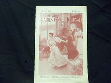 1895 MARCH LADIES' HOME JOURNAL MAGAZINE - GREAT ILLUSTRATIONS & ADS - ST 1542