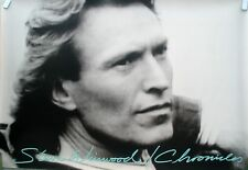 Steve Winwood Chronicles 1987 Vintage Music Record Store 2 Sided Promo Poster