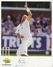 Autographed Editions 10 x 8 inch photo personally signed by Ian Botham Cricketer