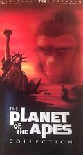 The Planet of The Apes Collection Box Set 5 Movies / 3Tapes PAL VHS  VGC