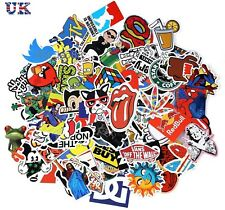 200 PCS Random Cool Vinyl Decal Graffiti Sticker Bomb Skate Laptop PVC Stickers