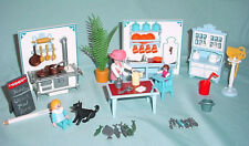 Playmobil Victorian Mansion Kitchen Stove Table Furniture Dollhouse 5300 5305