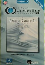 GABRIEL KNIGHT 2 : The beast within  PC ITALIANO