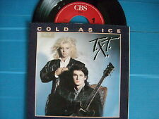 45 GIRI T.X.T. COLD AS ICE / BAD BOYS NUOVISSIMO LOOK 1985