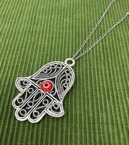 Silver lariat chain win evil eye coin pendant; evil eye silver necklace; silver lariat necklace evil eye charm necklace; silver evil eye pen