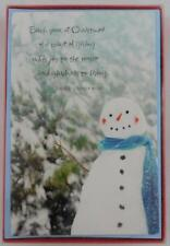 American Greetings Holiday Christmas Cards New 16 Snowman Helen Steiner Rice