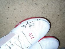 Louisville Cardinals Basketball Deng Adel Game Used Signed Adidas Shoes