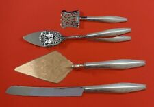 Diamond by Reed and Barton Sterling Silver Dessert Serving Set 4pc Custom Made