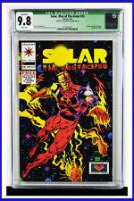 Solar Man Of The Atom #33 CGC Graded 9.8 Valiant May 1994 Comic Book