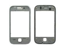 Genuine Samsung S5360 Galaxy Y Metalic Grey Front Cover - GH98-21130A