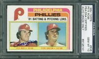 Pete Rose Signed Card 1982 Topps #636 Auto Graded Gem Mint 10! PSA/DNA Slabbed