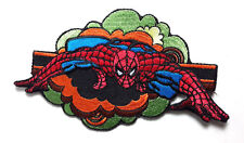 "Spider Man Comic Book 5"" Embroidered Patch- FREE S&H (DMPA-58)"