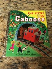 Little Golden Book: The Little Red Caboose by Marian Potter, HC 1972