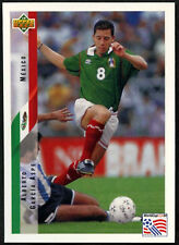 Alberto Garcia Aspe. MEXICO #25 World Cup USA'94, (eng/ger) card (C385)