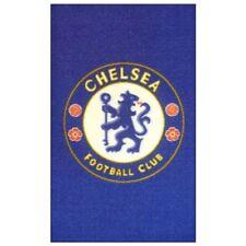 Tapis bleu football pour enfant