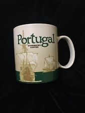 Starbucks Portugal Mug Icon Carrack Ship Coffee Cup V2 Cross Green New