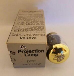 GE Général Électrique DFF 120V 150W Lampe Projecteur Projection Ampoule