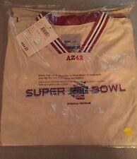 2008 Superbowl XLII Reebok Nylon Pullover Jacket Size L NFL Phoenix Arizona NEW