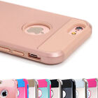 For iPhone 8 7 6s Plus XS X Case Shockproof Hybrid Rubber Heavy Duty Hard Cover